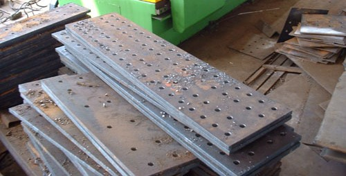Punched Steel Plates in PA NJ DE CT NY
